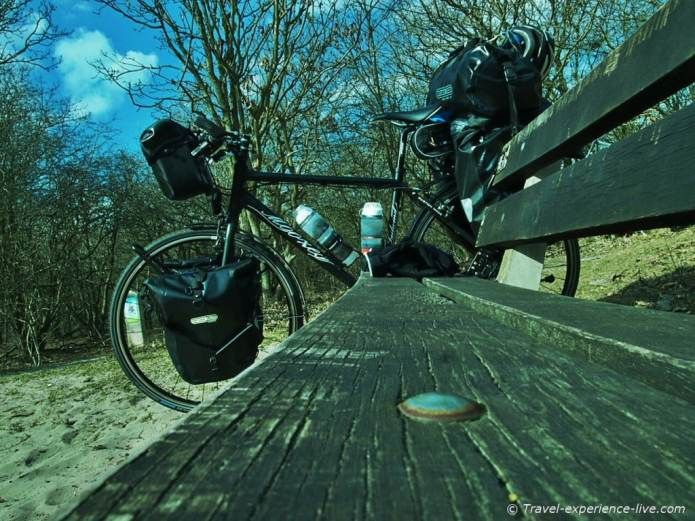 Cycling North Sea Route.