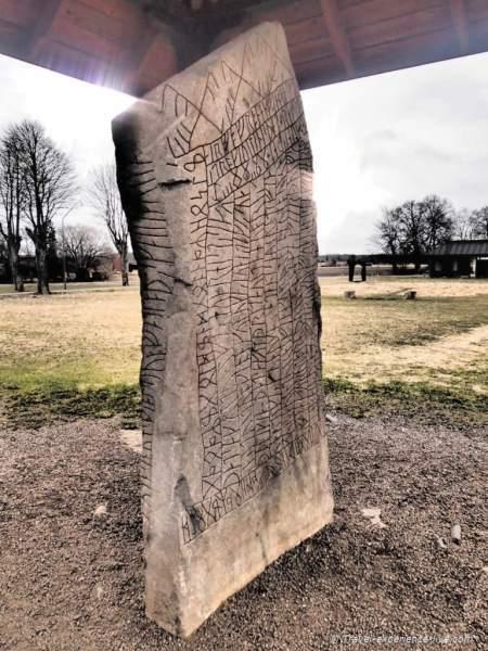 Rökstenen (the Rök Runestone).
