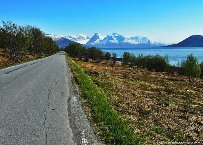 Amazing landscapes in northern Norway.