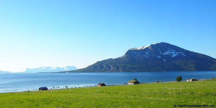 Boat houses in Norway.