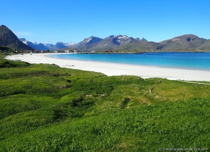 Lofoten beach, Norway.