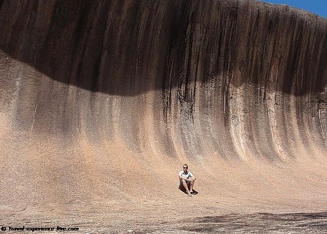 Wave Rock, Western Australia.