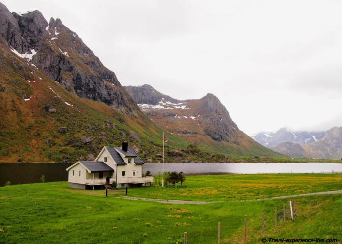 House in northern Norway.