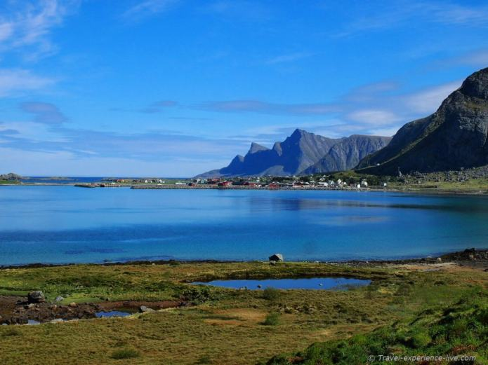 Beautiful landscape in northern Norway
