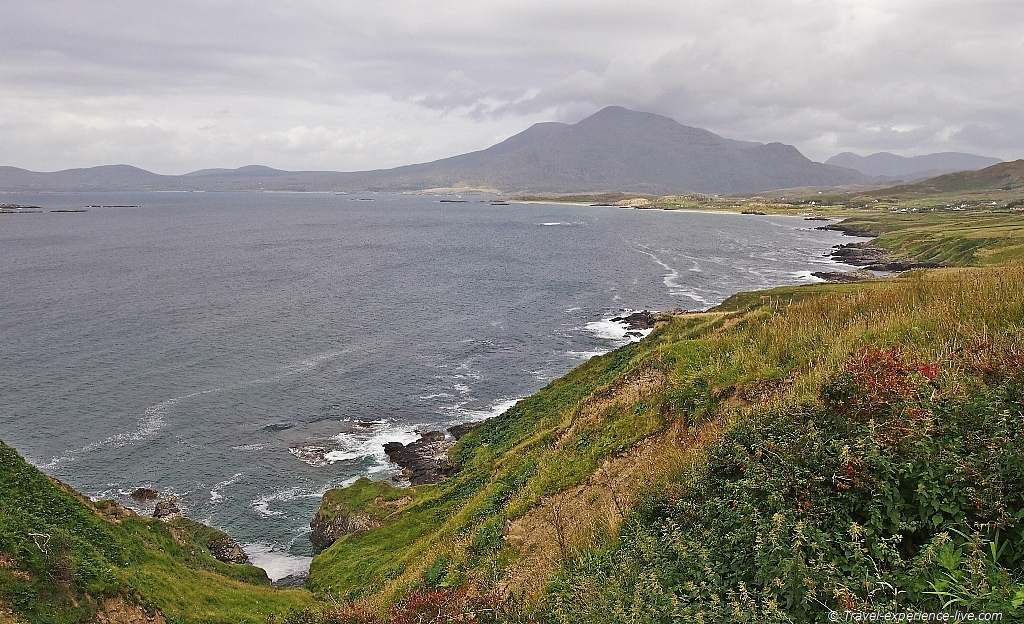 Stunning coastline in Connemara, Ireland.