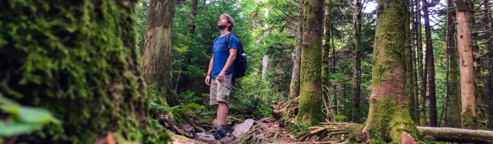 Bram Reusen in Grayson Highlands, Virginia
