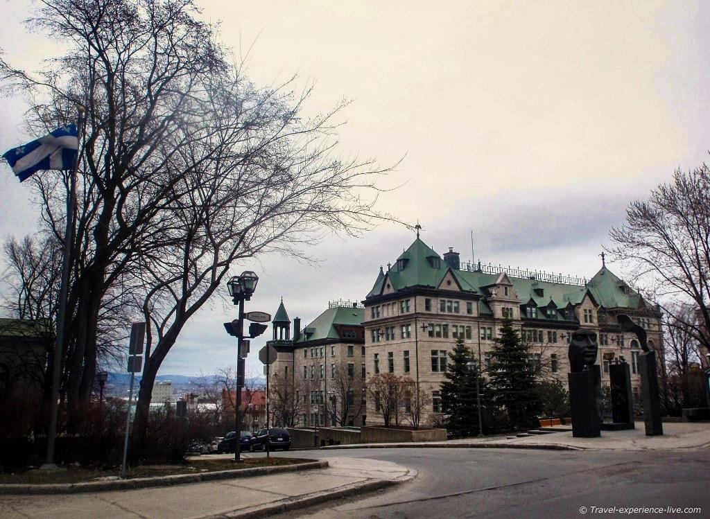 Old Québec City in Canada.