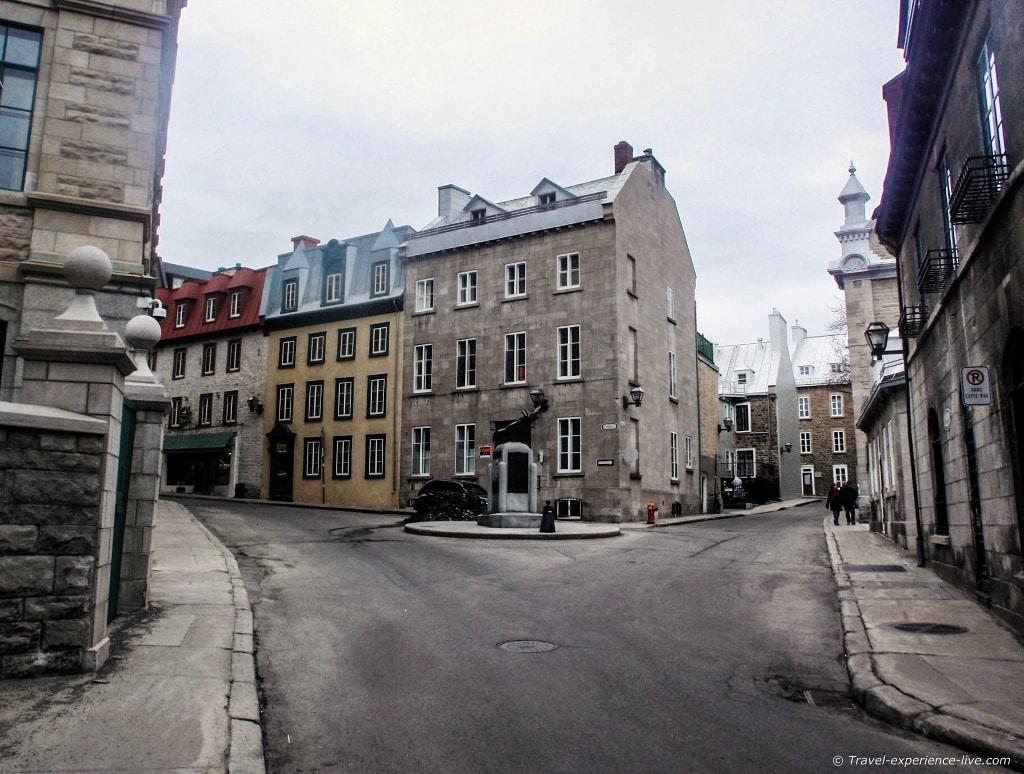 Old buildings in le Vieux-Québec.