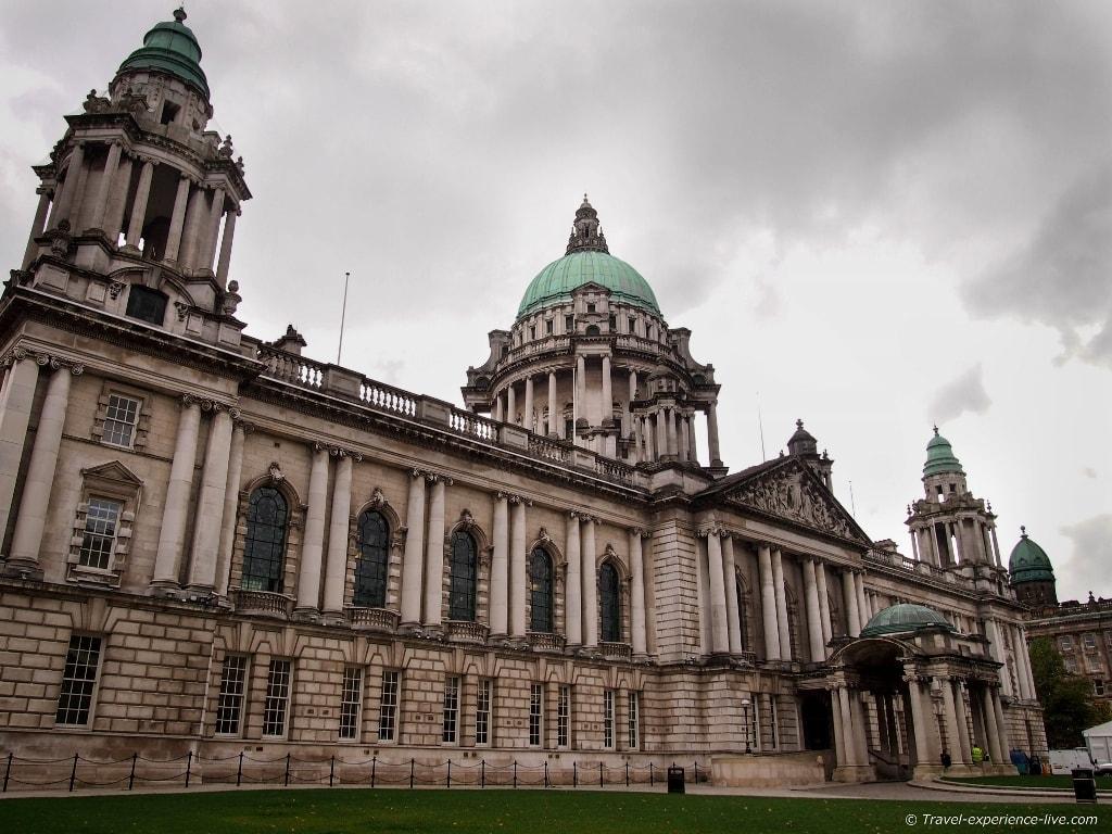 Town Hall of Belfast, Northern Ireland.