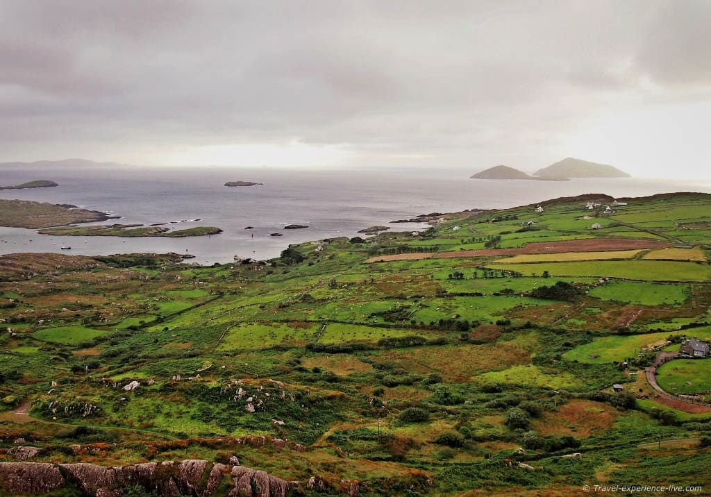 Ring of Kerry coast.