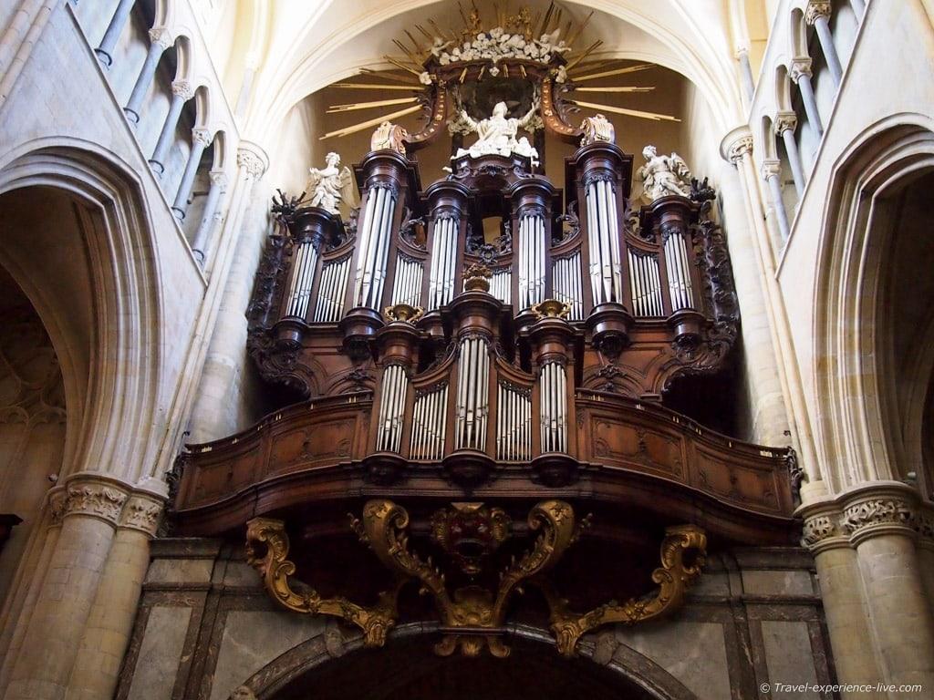 Church organ, Tongeren, Belgium