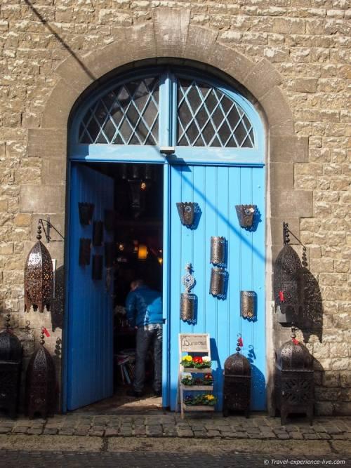 Antique shop in Durbuy, Belgium