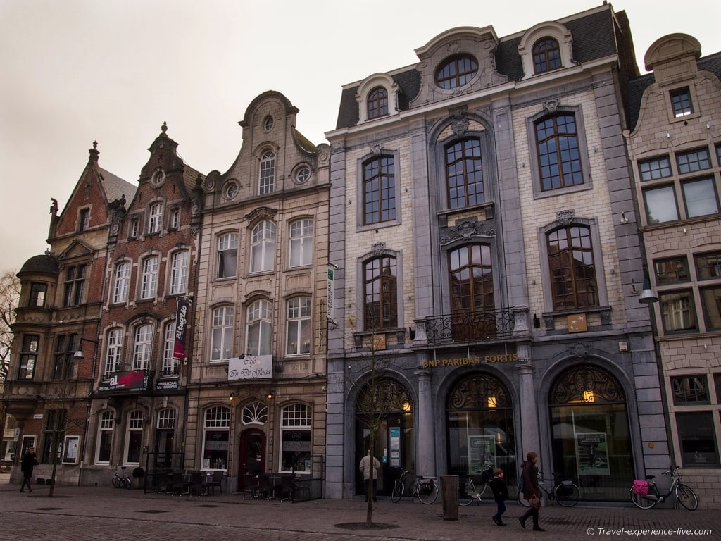 Flemish-style houses in Lier