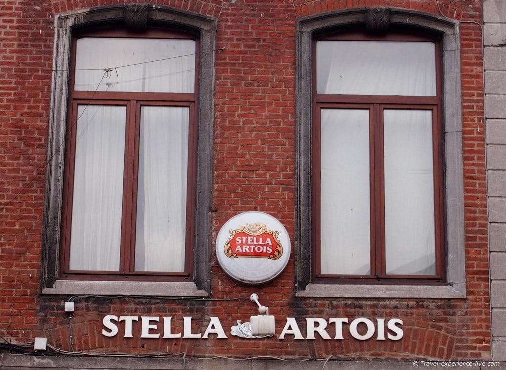 Stella Artois in Leuven, Belgium