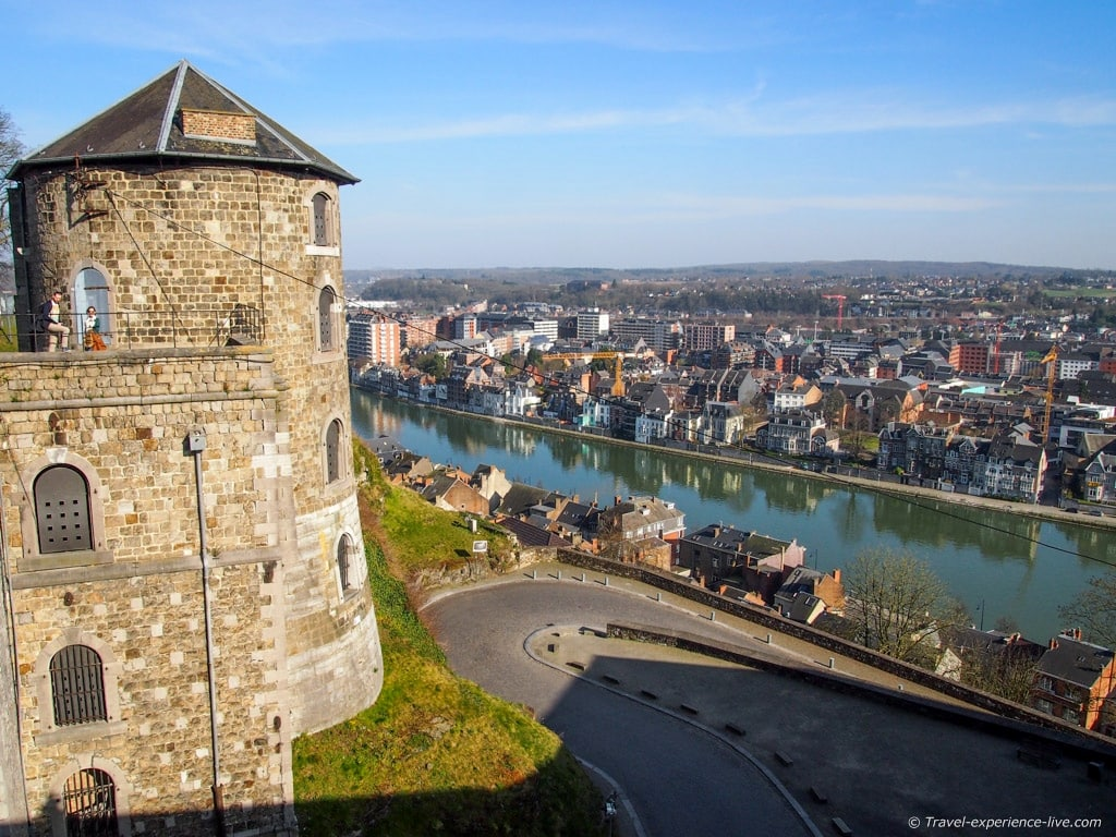 Citadel of Namur and the Meuse River, Belgium