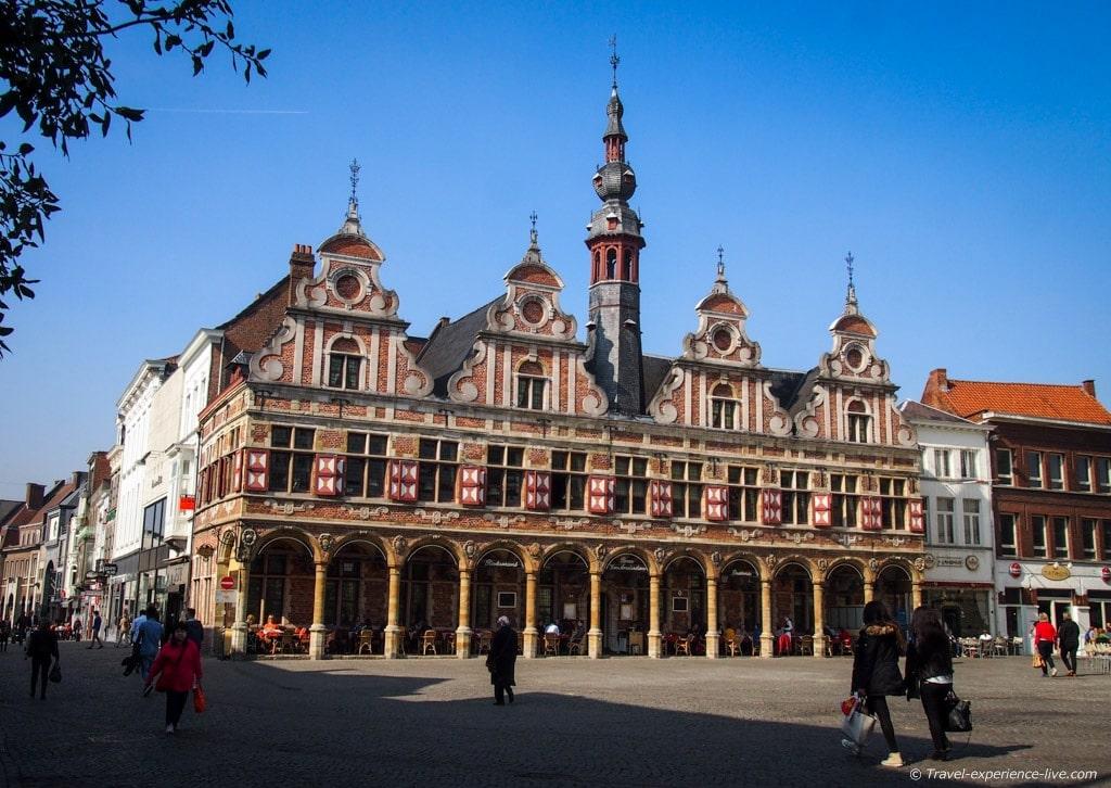 Borse van Amsterdam in Aalst, Belgium