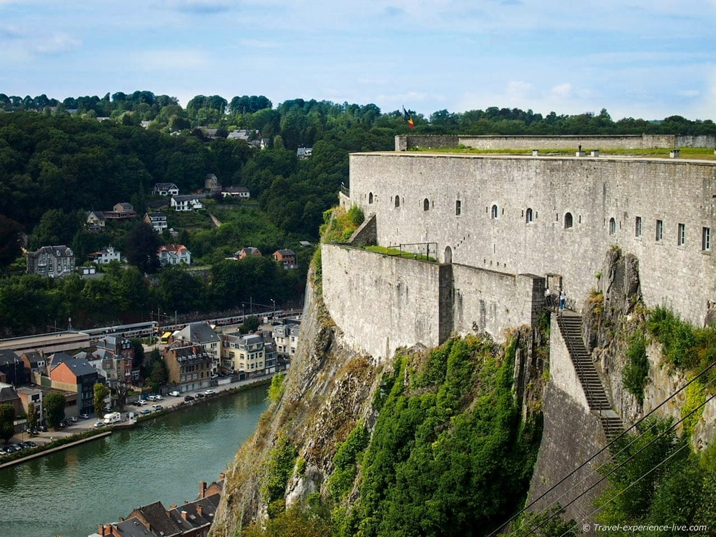 The Citadel of Dinant, Belgium