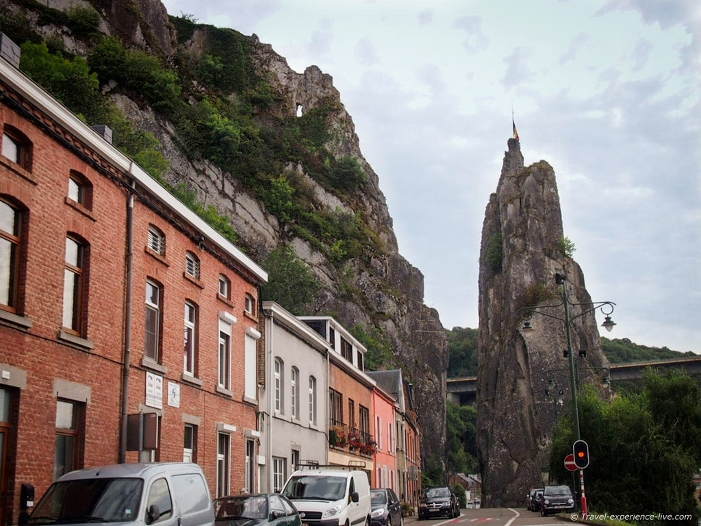 Bayard Rock in Dinant, Belgium