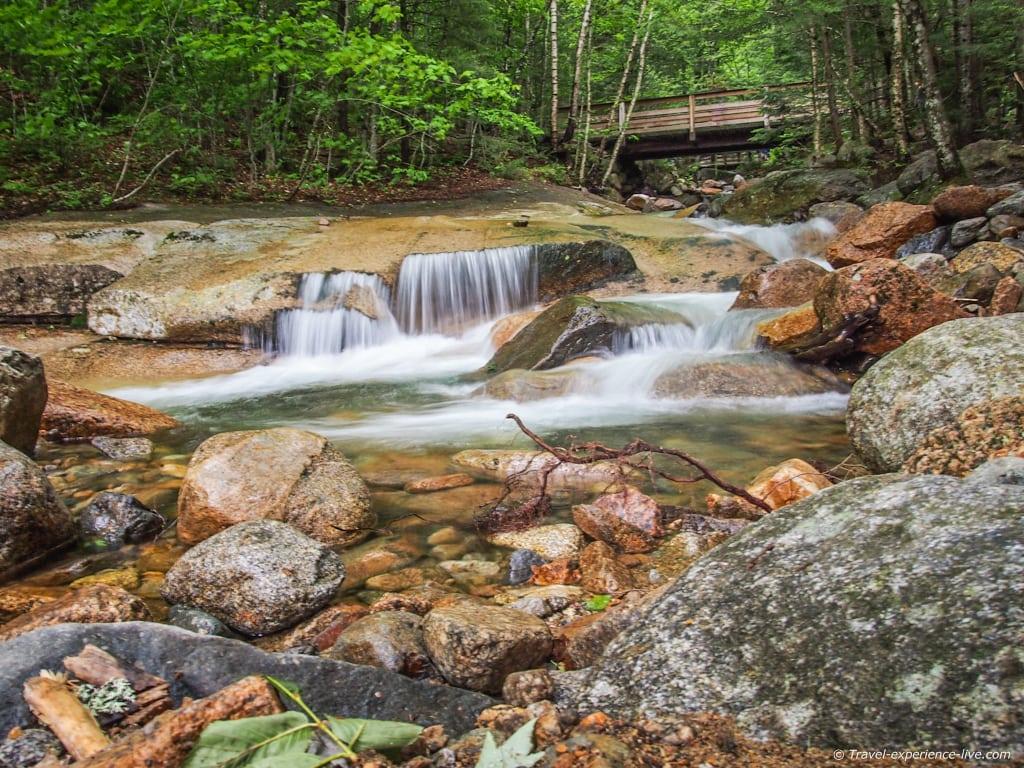 The Flume, New Hampshire.