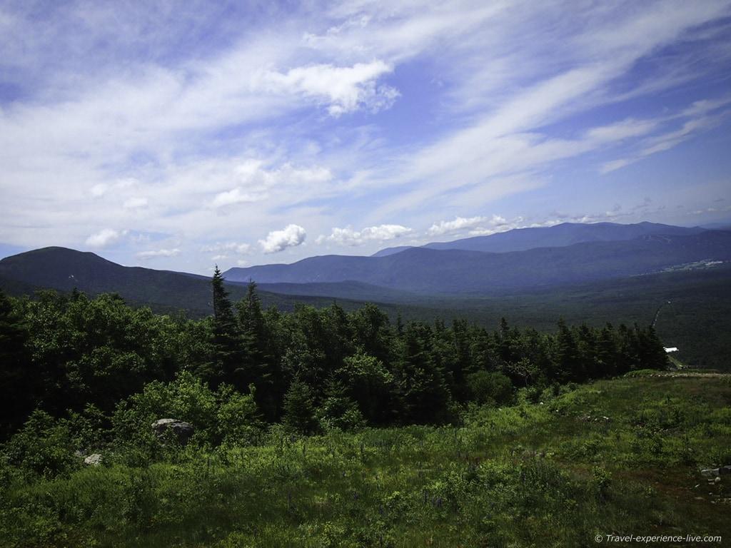 White Mountains, New Hampshire.