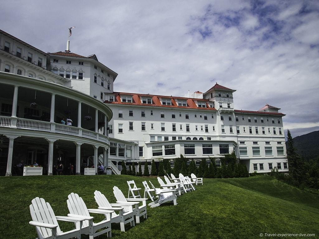 Mount Washington Resort, Bretton Woods, New Hampshire.