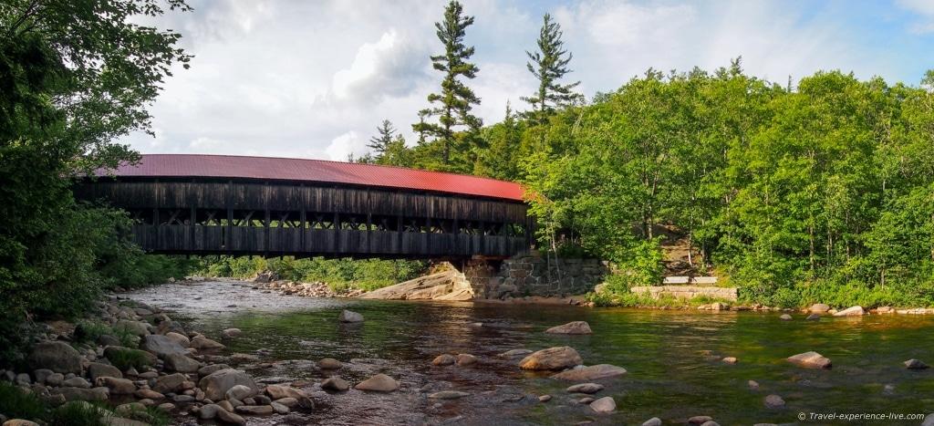 Albany covered bridge, Kancamagus Highway.