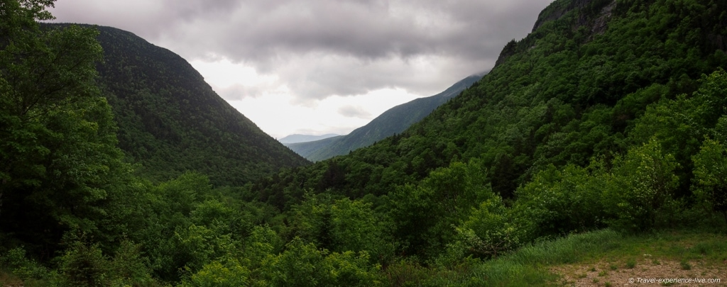 Crawford Notch, White Mountains of New Hampshire.