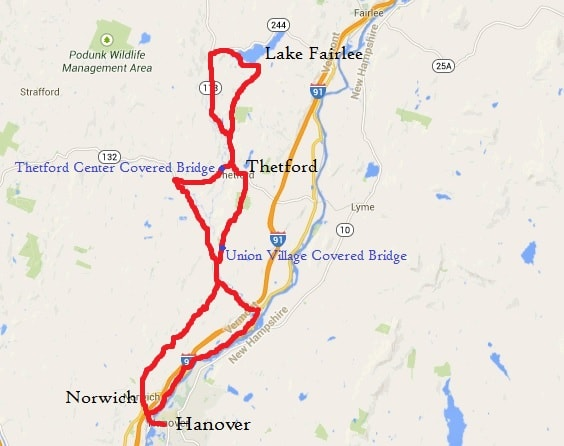 A 40-mile bike loop.