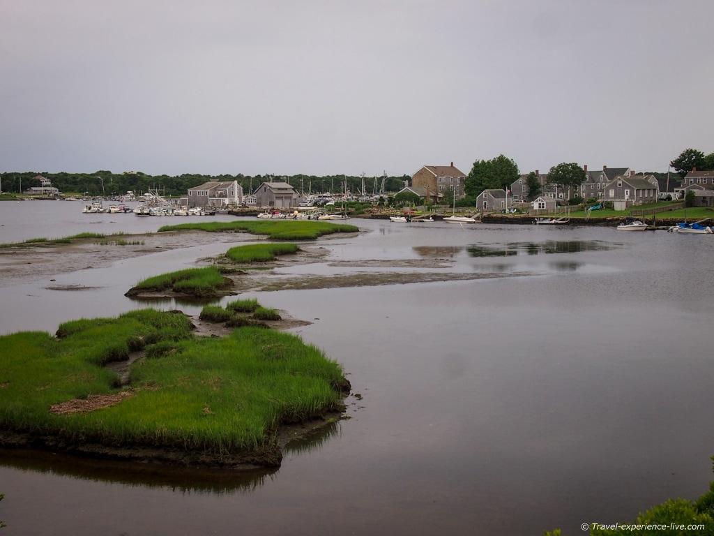 Historic Westport Point, Massachusetts.
