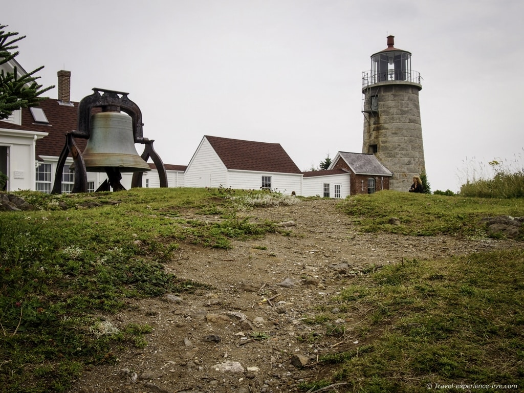 Lighthouse on Monhegan Island.