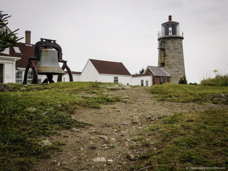 Lighthouse on Monhegan Island.