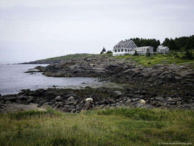 Lobster Cove, Monhegan, Maine.