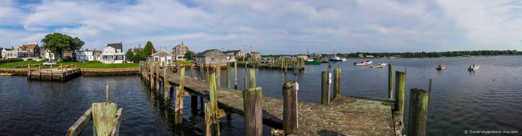 View of the Westport Point waterfront.