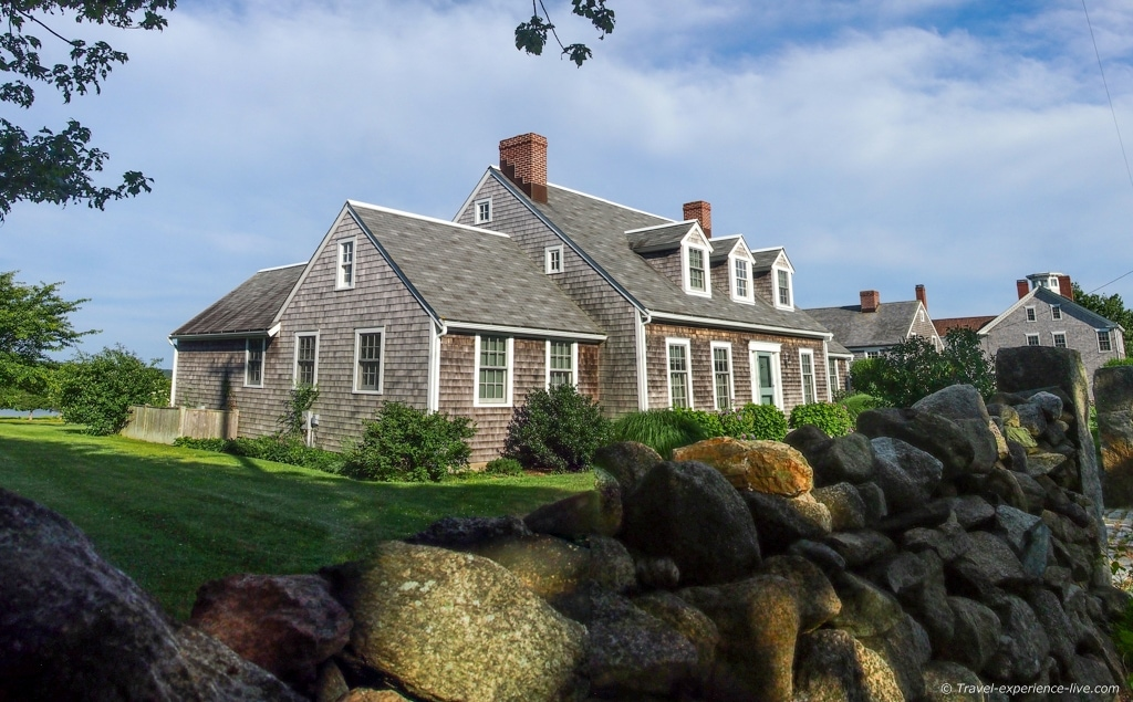 House in Westport Point, Massachusetts.