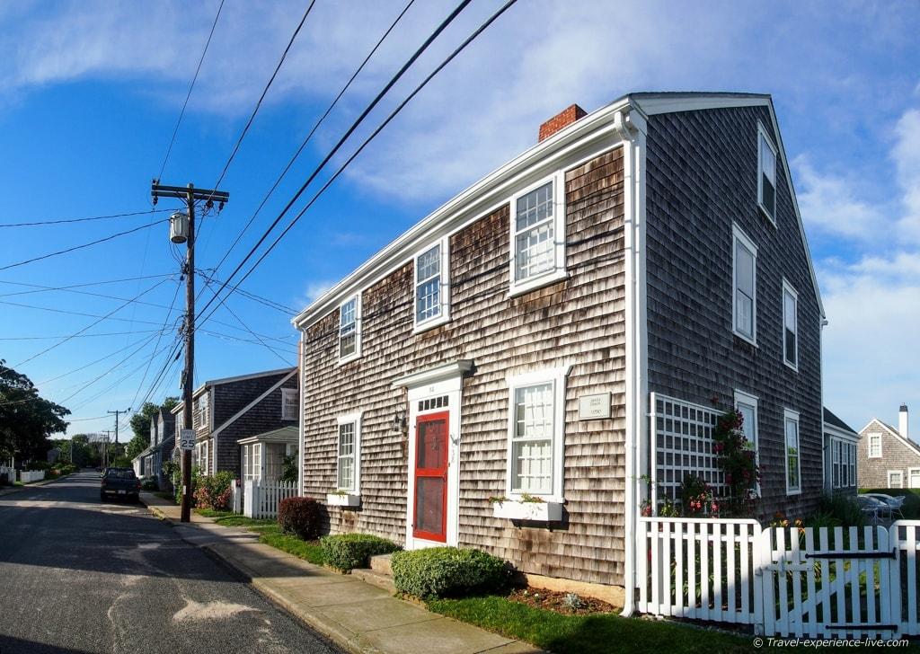 Historic house in Westport Point, Massachusetts.