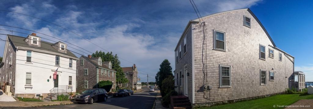Main street in Westport Point.