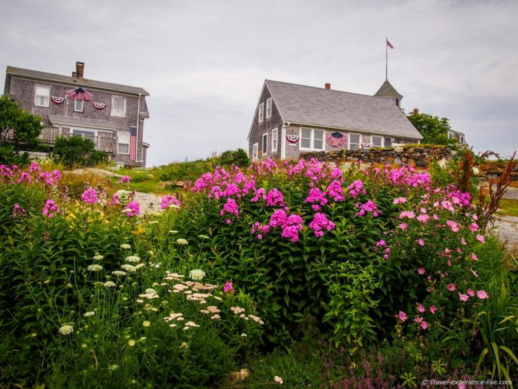 Unhurried daily life in Monhegan.