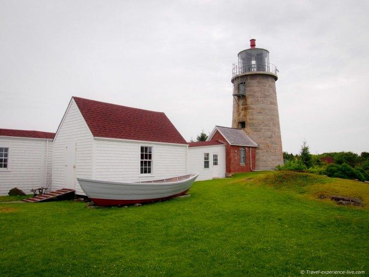 Monhegan Island Light.