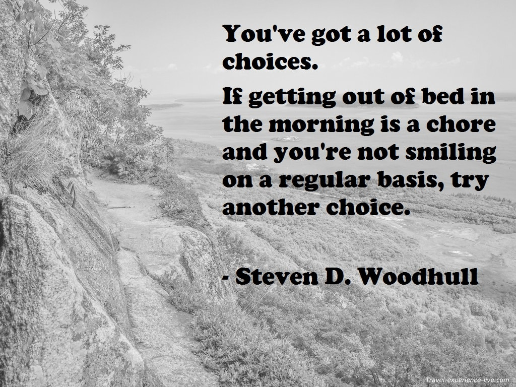 Quote by Steven D. Woodhull.
