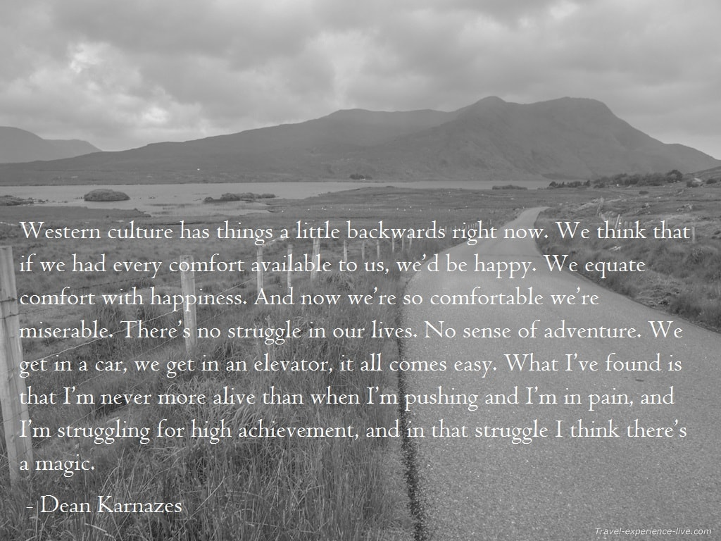 Quote by Dean Karnazes