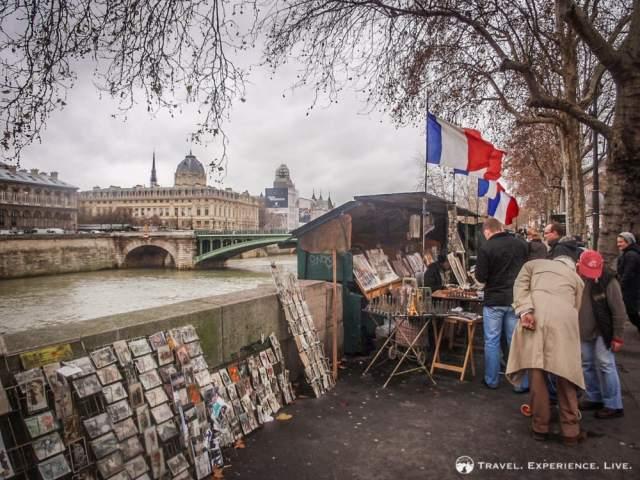 Banks of the Seine, Paris, France
