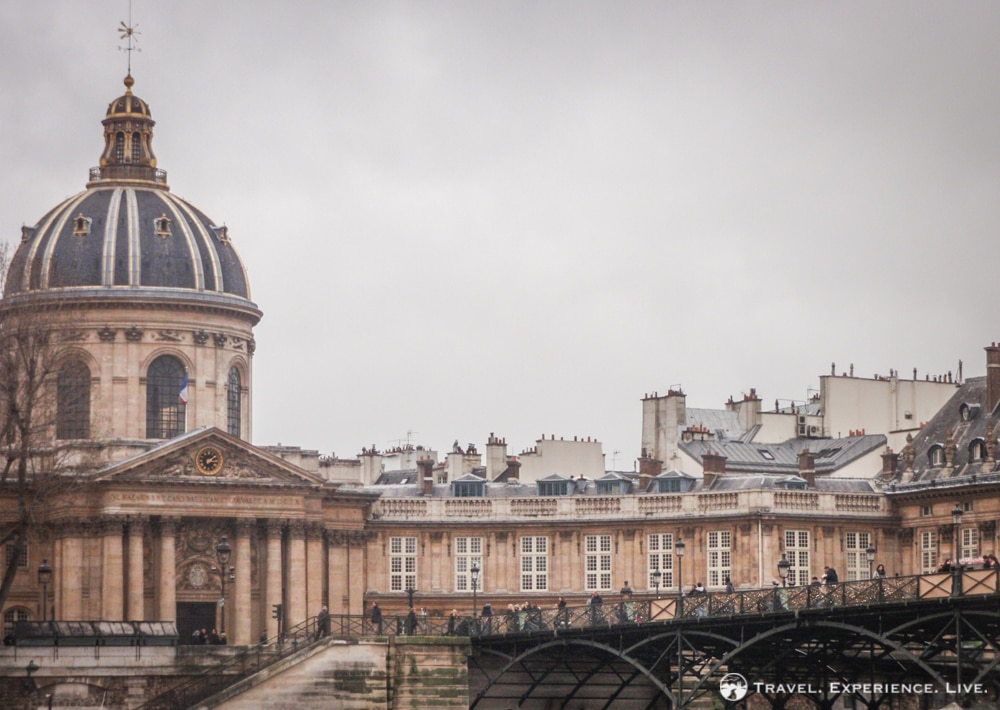 The Pont des Arts and Institut de France