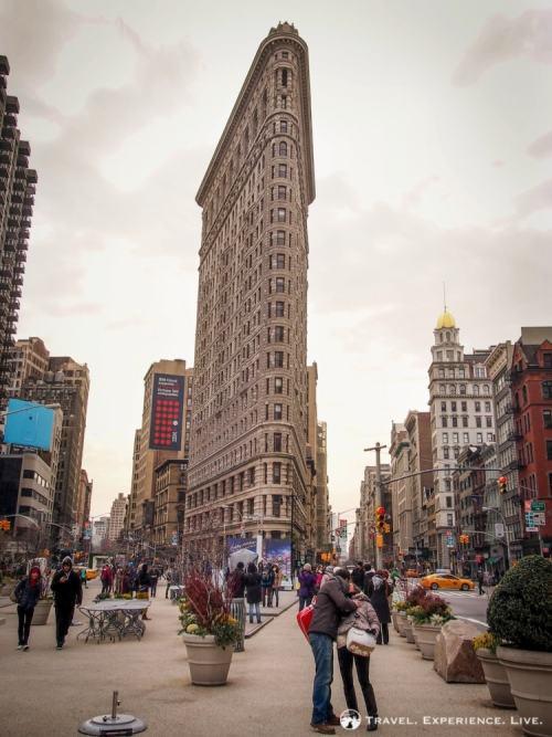 Flatiron Building in Manhattan