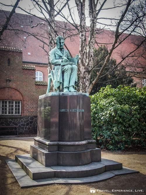 Statue of Søren Kierkegaard