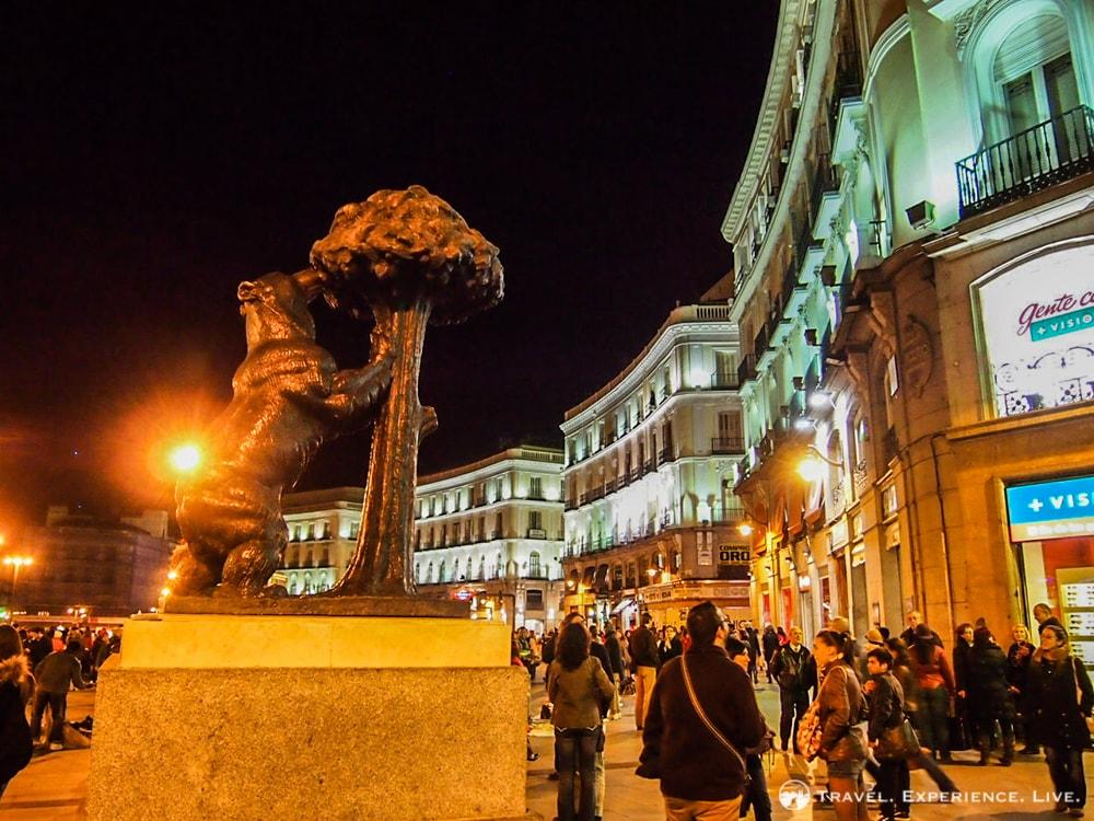 Bear statue at the Puerta del Sol