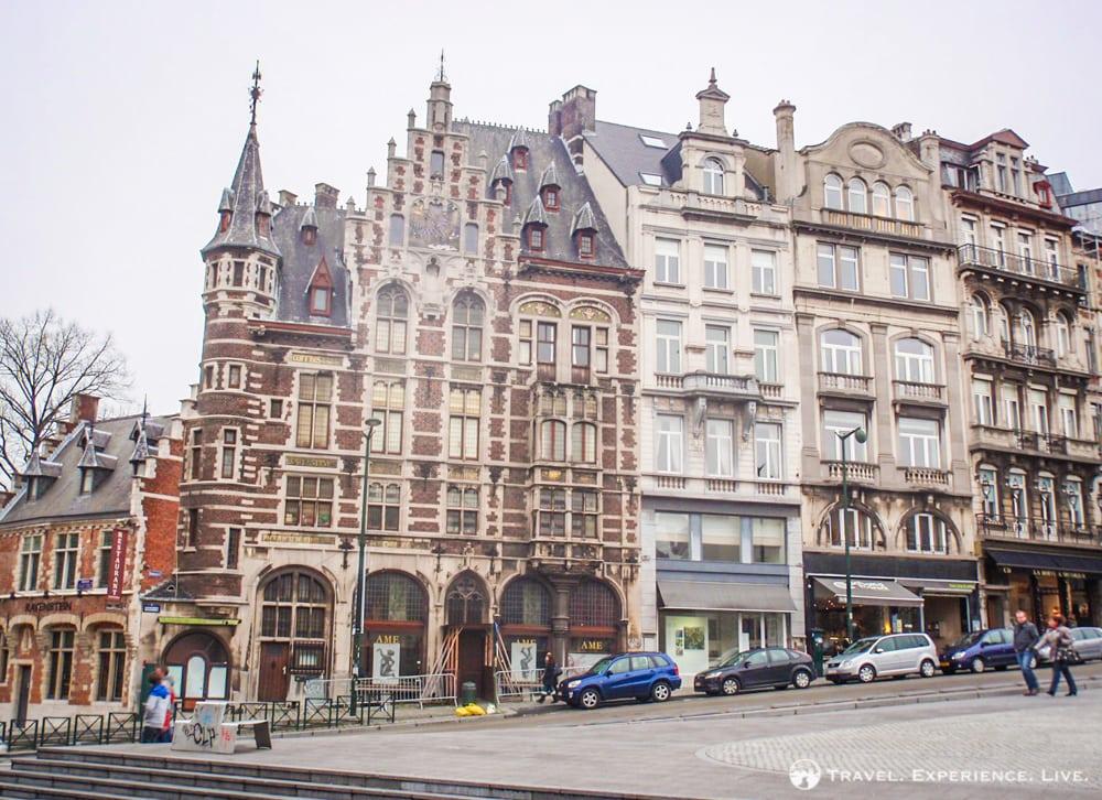 Art Nouveau buildings in Brussels