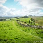 The Hadrian's Wall Path Runs along the Wall