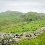 A challenging section on the Hadrian's Wall Path