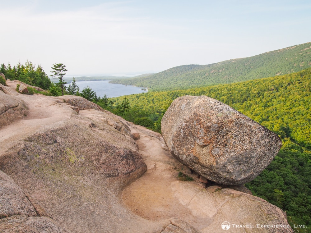 What to Do in Acadia National Park: Bubble Rock