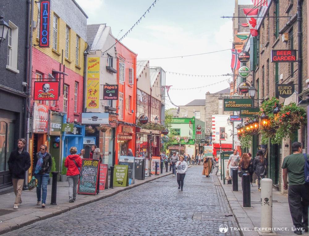 Vibrant Temple Bar, Dublin